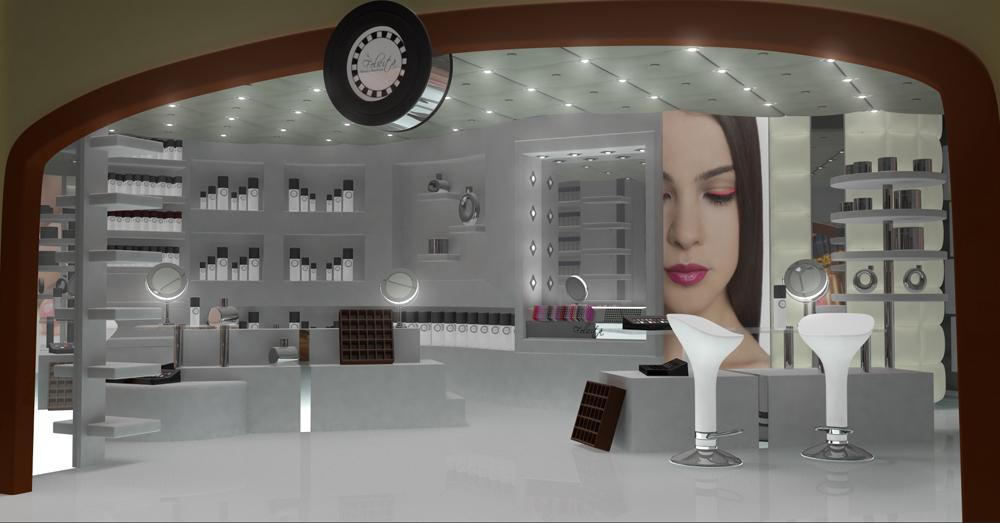 Design for a store at the Bellagio Casino